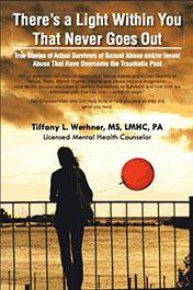 Tiffany Werhner Book There's a Light Within You That Never Goes Out sexual abuse survivor stories